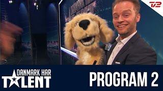 Bugtaleren Peter Nørgaard - Danmark Har Talent - Program 2