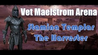 getlinkyoutube.com-Dungeon Diving - Harvester Templar - Full Veteran Maelstrom Arena Playthrough