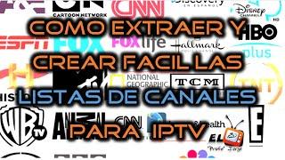getlinkyoutube.com-📺 Como crear y extraer las listas de canales .m3u para IPTV TV SATELITAL + 1000 canales 2016 - 2017