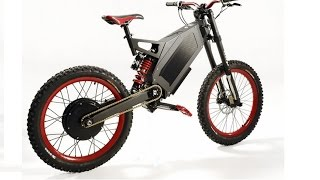 getlinkyoutube.com-Stealth Bomber Electric Bike and Adaptto - 120km/h