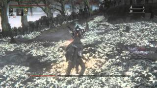 getlinkyoutube.com-フル強化のガトリング銃で師匠を懲らしめる   ブラッドボーン オールドハンターズ  DLC【Bloodborne: The Old Hunters】