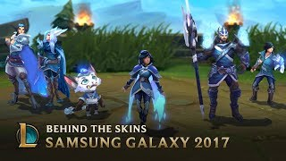 Making the SSG 2017 World Championship Team Skins - Behind the Scenes | League of Legends width=