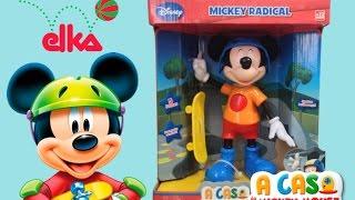 getlinkyoutube.com-Boneco Mickey Radical A Casa do Mickey Mouse Disney - Elka