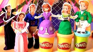 getlinkyoutube.com-Massinhas Clay Buddies Princesa Sofia Toysbr | Play Doh Clay Buddies Sofia the First Activity Book