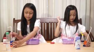 getlinkyoutube.com-CARA MEMBUAT SLIME | BAHASA | BY : CAHAYA & CINTA
