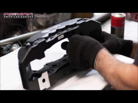Genesis G90: тюнинг передних тормозов