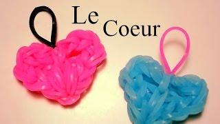 getlinkyoutube.com-Comment faire un coeur avec des élastiques sans machine