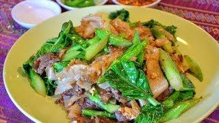 How to Make Thai Pad See Ew Noodles ก๋วยเตี๋ยวผัดซีอิ๊ว