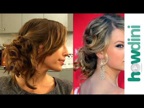 Messy updo hairstyles: How to do Taylor Swift