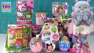 Disney Trolls Angry Birds Num Noms Blind Bag Toy Opening | PSToyReviews