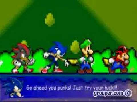 Videos Related To 'mario,sonic,luigi,shadow Vs The Koopa Bro