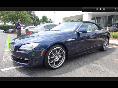 2012 BMW 650i Convertible Start Up, Exhaust, and In Depth Tour