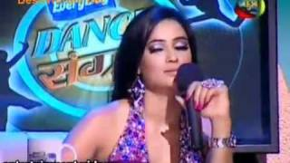 getlinkyoutube.com-Argument between Shweta tiwari nd Saroj khan in dance sangram Fulll part