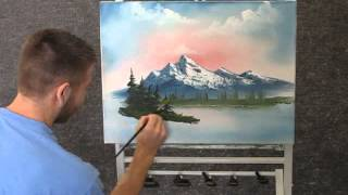 getlinkyoutube.com-Paint with Kevin Hill - Unedited Mountain Sunrise