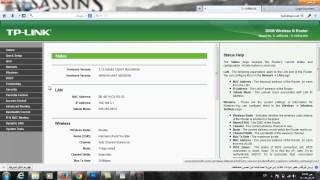 getlinkyoutube.com-كيفية الدخول الى الراوتر واعاده تشغيله من الحاسوب دون الذهاب الى زر اطفاء الراوتر للمبتدئين Tp-Link