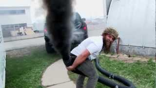 getlinkyoutube.com-Twin Turbo Cummins PRANK! #DieselDave Rolls Coal!