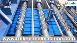 getlinkyoutube.com-Roller Shutter door Machine