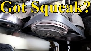 getlinkyoutube.com-How to Fix a Squeaky Belt (figure out where the squeak is coming from)