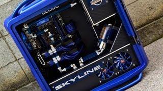 Cooler Master Cosmos 2 / Skyline GTR Casemod