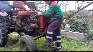 getlinkyoutube.com-Mano DT 20. uzvedimas po variklio remonto.