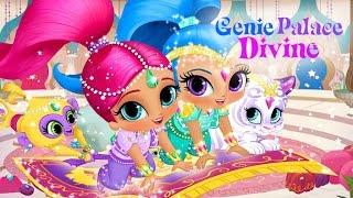 getlinkyoutube.com-★ Shimmer & Shine Genie Palace Divine (Super Fun Game for Kids)