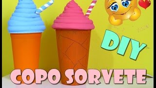 getlinkyoutube.com-DIY Copo sorvete decorativo