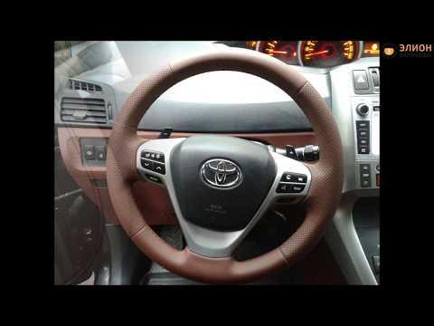 Вибро-шумоизоляция и перетяжка салона Toyota Verso