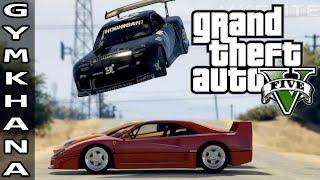 GTA 5 EPIC DRIFT MONTAGE - GYMKHANA NINE: LOS SANTOS PLAYGROUND