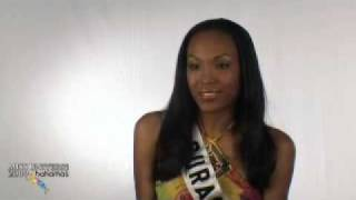 MISS CURACAO UNIVERSE 2009 INTERVIEW