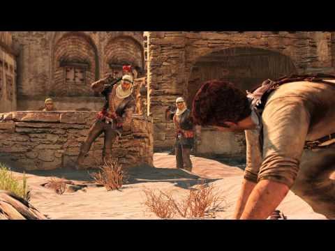 Desert Village Gameplay - UNCHARTED 3 Jordan Event