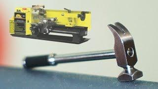 getlinkyoutube.com-Сделать молоток на токарном станке (DIY / make a hammer on the lathe)