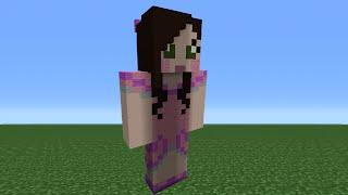 getlinkyoutube.com-Minecraft Tutorial: How To Make A SuperGirlyGamer Statue (GamingWithJen)