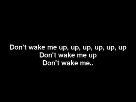 Chris Brown-Don't Wake Me Up Official (Lyrics On Screen) NEW 2012
