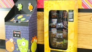 getlinkyoutube.com-How to Make a Doll Vending Machine - Doll Crafts