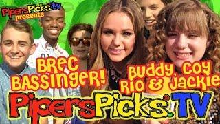 getlinkyoutube.com-BREC BASSINGER Picks Cutest Co-Star + Rio Mangini, Buddy Handleson,Coy & Jackie Bella & the Bulldogs