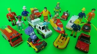 getlinkyoutube.com-Feuerwehrmann Fireman Sam What is in his Lunch Box Full Episode of Surprise Toy Openings