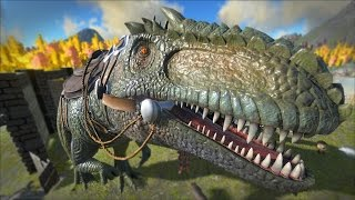 getlinkyoutube.com-ARK: Survival Evolved - Taming A GIGANOTOSAURUS!! [49]