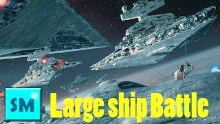 getlinkyoutube.com-SPACE ENGINEERS - LARGE SHIP BATTLE