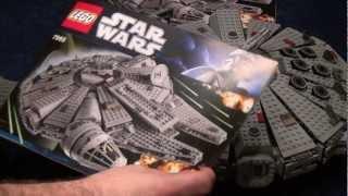 getlinkyoutube.com-Test Lego Millennium Falcon (Set 7965 Star Wars) deutsch