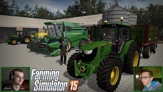 getlinkyoutube.com-Żniwa i gruberownie z John Deere ☆ Let's Play #2 FS 15 MP +2 kamerki ㋡ MafiaSolec & MrAdamo15