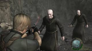getlinkyoutube.com-RESIDENT EVIL 4 GAMECUBE MODO IMPOSIBLE 2099