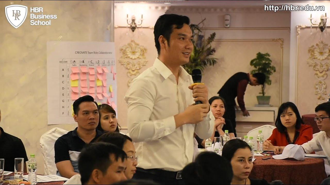 Cảm nhận học viên trường doanh nhân HBR - Khóa học Tuyển dụng Đào tạo & Giữ chân Nhân Tài - TS. Alok