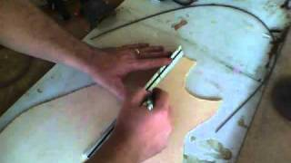 getlinkyoutube.com-Vid12 - Thicknessing the Top - Building an Acoustic Guitar