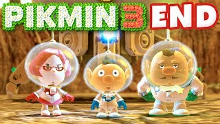 getlinkyoutube.com-Pikmin 3 - Day 21 and Day 22 - Plasm Wraith Boss and Ending! (Nintendo Wii U Gameplay Walkthrough)