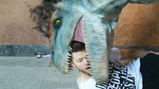 getlinkyoutube.com-Jurassic World Dinosaurs Prank (SA Wardega)