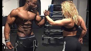 getlinkyoutube.com-Je m'entraîne avec ma copine ( ft. SarouFit)