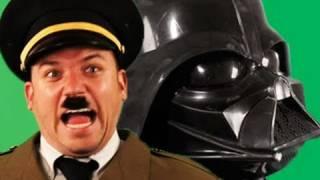 getlinkyoutube.com-Darth Vader vs Hitler.   Epic Rap Battles of History 2