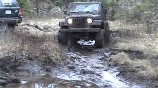Jeeps Playing in the Mud!