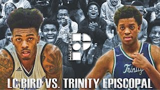 getlinkyoutube.com-Undefeated Teams Clash as LC Bird Deals Trinity its First Loss! Full Highlights!