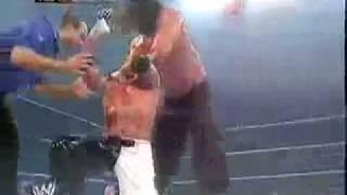 getlinkyoutube.com-The Great Khali Vs Poor Rey Mysterio(Finlay and Batista Interrupt).mp4